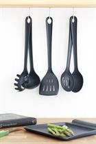 TOOLS - set with 5 pcs. utensils in grey