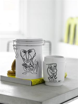 Thermocup with art